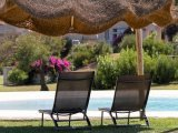 Relax at the pool Li Conchi, Cala Sinzias