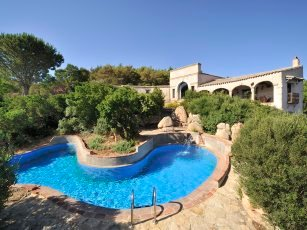 Villa Is Molas Monte - Pool