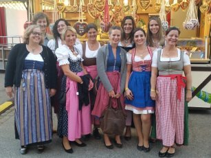 Teamfoto Wiesn
